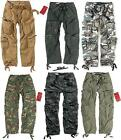 Airborne Vintage Military Surplus Style Mens Combat Cargo Trousers, All Sizes