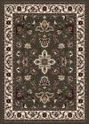GREEN CREAM IVORY BURGUNDY TRADITIONAL PERSIAN AREA RUG ORIENTAL FLORAL CARPET