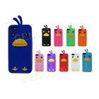 Cute Angry Bird Slip-On Soft Silicone Gel Skin Cover Apple iPhone 5