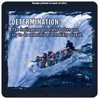 "The Mountain Life ""Determination"" Rafting T-Shirt Dark Blue Multiple Sizes NEW"