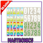 ADHESIVE WHEELIE BIN NUMBERS MEADOW WHITE RAINBOW SQUIRREL IVORY STICKER VINYL