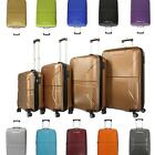 100% PC Hartschalenkoffer Reisekoffer M L XL SET Trolley Hartschale Koffer Case