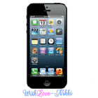 Edible Apple iphone 5 4 3 Topper A4 Icing Rice Paper sheet cake decorating phone
