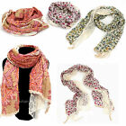 Free Shipping 1PC Classic Print Vintage Style Crochet Lace Scarf Ideal Gifts