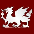 Personalised WELSH DRAGON Acrylic Mirror CHRISTMAS Present Gift Stocking filler