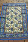 Tagesdecke Wandbehang paisley floral indien inde couvre lit tuch goa deko yoga
