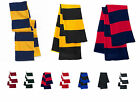 Sportsman - Rugby Striped Knit Scarf - SP02  All colors