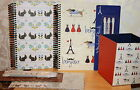 Stationery set, choice of 2 designs, inc 3 pencils, pot and spiral notebook