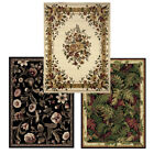 rug 5 x 7 - Traditional Floral Oriental Area Rug 5x7 Border Persian Carpet -Actual 5'2