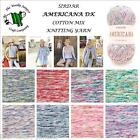 SIRDAR AMERICANA DK COTTON MIX KNITTING YARN - 50G BALL - VARIOUS SHADE OPTIONS