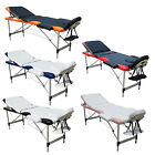 Massage Table 3 Section Lightweight Portable Folding Therapy Beauty Couch Bed