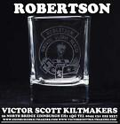 ROBERTSON CLAN SHOT GLASS FAMILY CLAN TOT GLASS AVAILABLE IN 80 NAMES