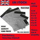 Grey Strong Mailing Postage Poly Plastic Bags Free Same Day Dispatch ALL SIZES