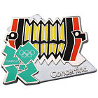 London 2012 Olympic Pin Badges by Honav on Backing Card. Various 2