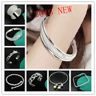 2013 NEW Fashion Jewelry 925Silver Men/Ladies Perfect bracelet/bangle good gift