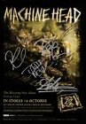 MACHINE HEAD The Locust SIGNED Autographed PHOTO Print POSTER Shirt CD 003