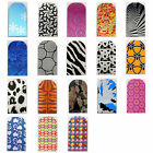 16pcs Nail Foil Nail Art Sticker Patch Nail Wraps for Fingers & Toes 259276