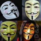 V For Vendetta Cool Man Masquerade Party Fancy Dress Costume Ball Mask 3 Colors