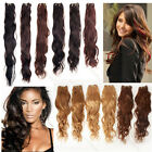 "14""16""18""20""22""26"" Remy Brazilian Natural Wave Human Hair Weft Extensions 100g"