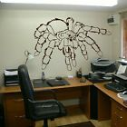 Scary Spider Tarantula Animal Wall Sticker Home Decor Transfer Design Mural A25