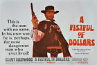 """""""A FISTFUL OF DOLLARS""""..Clint Eastwood Classic Movie Poster A1 A2 A3 A4 Sizes"""