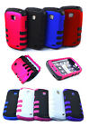 For Samsung Galaxy Proclaim / illusion Tuff Hybrid 2 Piece Cover Soft Case