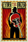"""WALK THE LINE"" .Johnny Cash Classic Movie Poster A1 A2 A3 A4Sizes"
