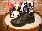Women's Slip Grips Black Food Service Work Athletic Shoe NEW