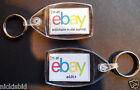 EBAY KEYRINGS - UNIQUE - 'EBAY ADDICT' OR 'MILLIONAIRE IN THE MAKING'