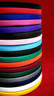 2 ,5 ,10 ,25 ,50, metres of Webbing In 17 Various Colours 20mm