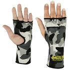 INNER GLOVES FIST PROTECTIVE HAND WRAPS MUAY THAI BOXING CAMO SNOW