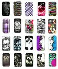 For Samsung Galaxy S2 T989 Hercules T-Mobile Flower Skull Design Hard Cover Case