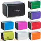 Music Angel Friendz Travel Stereo Speaker for iPhone iPad iPod MP3 Player S3 S4