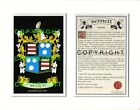 BAYNES to BENTLEY Family Coat of Arms Crest + History - Mount or Framed