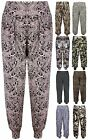 Womens Animal Tie Dye Print Ladies Long Fit Harem Baggy Pants Trousers Plus Size