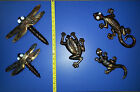 Metal Wall Art Gecko Lizard Dragonfly Frog Hanging Plaque Ornament