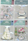 U CHOOSE  Jolee's WEDDING CAKE  CAKE REPEATS WEDDING TABLE SETTING 3D Stickers
