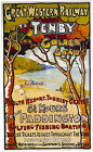 TENBY Pembrokeshire Vintage Great Western Railway Poster A1,A2,A3,A4 Sizes