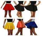 "Traditional Skater Skirts Themed Print 15"" Cheerleader Style Roller Girl"