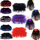 Frilly Skirt Plus Size 6-24 Fancy Dress Burlesque Dancewear Tutu Outfit Costume