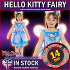 *** SALE *** FANCY DRESS COSTUME # GIRLS HELLO KITTY BUTTERFLY FAIRY AGE 4-9
