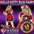 *** SALE *** FANCY DRESS COSTUME # GIRLS HELLO KITTY LADY BUG FAIRY AGE 4-9