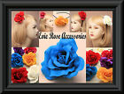 New Pretty Silk Rose Flower Corsage Fascinator Hair Clip Brooch Pin Alice Band