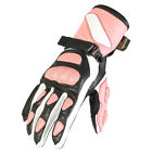 New Ladies Leather Waterproof Winter Motorcycle / Motorbike Warm Womens Gloves