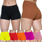 New Womens Plain Shorts Underwear Boy Boxers shorts Size 10 12 14 16 18 20 22 24