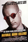 NATURAL BORN KILLERS (WOODY HARRELSON AND JULIETTE LEWIS) FILM POSTER PRINT 01
