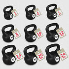 Vinyl Kettlebell Body Tone Strength Training Kettlebells 2KG - 24KG  <br/> OFFICIAL&copy; We R Sports&trade; eBay Store ◥◤12 Month Warranty◥