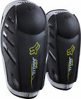 NEW FOX RACING TITAN SPORT MX DIRT BIKE OFFROAD ELBOW GUARDS BLACK BLK ALL SIZES