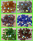 50 Glass AB Cubes/Squares 4mm - Choice of Colours