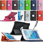 360° ROTATING LEATHER CASE COVER FOR SAMSUNG GALAXY TAB 3 7.0 SM-T210 P3200 HOT